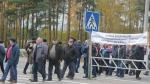 50 украинских горняков объявилиголодовку