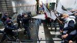 Столкновениями закончились акции протеста вБрюсселе