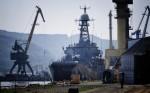 Судостроители Николаева потребовали погасить долги позарплате