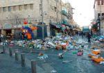 Иерусалим завален мусором из-за забастовкикоммунальщиков