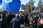 В Грузии проходят столкновения между уволенными работниками иполицией
