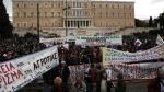 Греческие фермеры в знак протеста заблокировали центрАфин