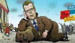 Мразь Медведев заявил об отсутствии в РФбезработицы