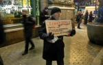 Активист оштрафован «за хождение» во время одиночногопикета