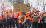 Забастовка польских металлургов