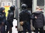 На акции оппозиции в Минске задержано не менее сотничеловек