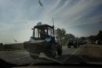 В Краснодарском крае продолжают задерживать участников «тракторного марша»