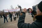 Транспортники Екатеринбурга на митинге потребовали навести порядок вотрасли