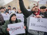 В Бресте прошел «Марш нетунеядцев»