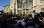 В Польше проходит акция протестаметаллургов