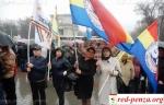 В Кишиневе на марш протеста вышли тысячиучителей