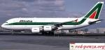 Сотрудники Alitalia объявили о проведении 24-часовойзабастовки
