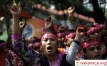 В Азии швеи требуют повышениезарплаты