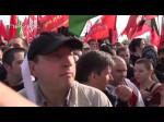 Обосравшийся В. Путин и народ 6 мая 2012года