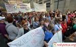 В Варшаве воспитатели яслей провели маршпротеста