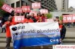 Сотрудники AT&T вышли назабастовку