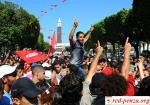 Полиция Туниса применила слезоточивый газ против манифестантов вТатуине