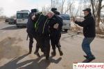 В Москве задержали протестующихдальнобойщиков