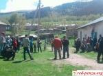 Киргизия. Забастовка на обогатительнойфабрике.