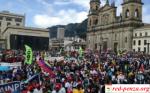 В Колумбии бастующих учителей разогналиводометами