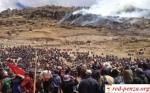 Протестующие в Перу учителя разгромилиаэропорт