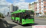 В киргизском Оше бастуют водителитроллейбусов