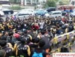 В Индонезии бастуют водителиUber