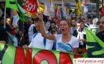 Протест сотен тысячфранцузов