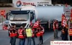 Забастовка французских дальнобойщиков