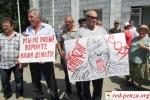 Гуковские шахтеры начали шествие вРостов-на-Дону