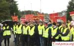 Протест польских рабочих вНорвегии